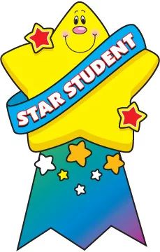 star student clipart More Kids Awards, Student Awards, Classroom Posters, Classroom Displays, Preschool Classroom, Preschool Activities, Student Clipart, School Clipart, Star Students