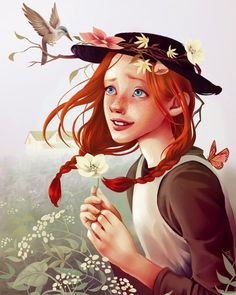 Anne Shirley- Anne of Green Gables Anne Shirley, Gilbert And Anne, Amybeth Mcnulty, Anne White, Gilbert Blythe, Anne With An E, Fake Girls, Cuthbert, Kindred Spirits