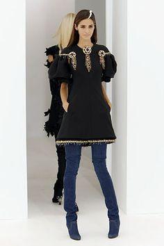 Chanel Fall 2006 Couture Fashion Show - Irina Lazareanu