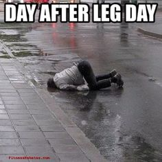 Day after leg day