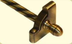 Zoroufy® Heritage® Stair Rod Collection Acorn Extended with 1/2 Diameter Roped 01616-03666 from waybuild