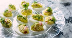 Smoked-Trout Deviled Eggs