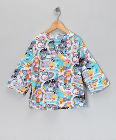 Take a look at this Oahu Tunic - Toddler & Girls by Coradorables on #zulily today!