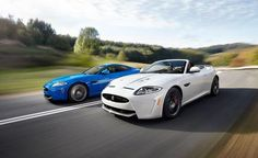 """""""We'll leave you with this advice: Should you find yourself behind the wheel of this XKR-S at the end of a smooth, deserted runway, floor it. Whether the top is up or down is your call."""""""