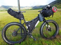 J.PAKS Adventure Cycling Frame Bags: Frame Paks