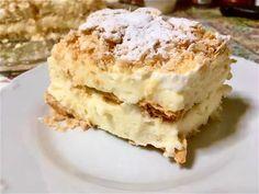 Κάτι εύκολο νόστιμο και δροσερό - θα σου πέσουν τα σάλια, μετά συγχωρήσεως Greek Desserts, Puff Pastry Recipes, Apple Pie, Mashed Potatoes, Sweets, Cookies, Cake, Ethnic Recipes, Food