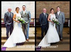 Church Wedding, Outdoor Wedding - Can Your Photographer Handle It? - Brenda Hoffman Photography