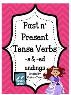 Students will add -s or -ed to show the difference between present and past tense verbs. They will also cut and match present and past tense verbs together. It includes two cut and sorts as well as two writing activities that should suit both first and second graders.Only $3.00!