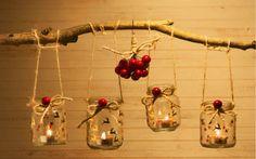 Úžasné nápady na vánoční výzdobu ze zavařovacích sklenic, které vám ušetří peníze! | České vychytávky