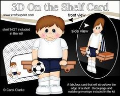 ** COMING SOON** **NEW CONCEPT** 3D On the Shelf Card Kit Tutorial on http://www.craftsuprint.com/carol-clarke/?r=380405