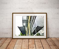 Portland Art,Oregon Art,The Pearl,Fire Escapes,Reflection Art,Room Decor,Dorm Wall Art,Large Wall Art Print,Fine Art,Kitsch,Office Art Print by TheWildWestArtStore on Etsy