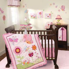 Sunshine Garden 5-Piece Crib Bedding Set by Lambs & Ivy