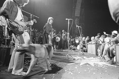 The Rolling Stones playing Altamont rock festival
