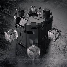 23.1.2016 - Pressure Tank #Fusion360 #Cinema4D #C4D #ArnoldRenderer #Abstract #3D #Machine #Mechanical #Hardsurface #SciFi #Futuristic #Render #Digital #Art #Design #Everyday by aspenexcel