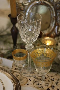 I have vintage goblets that are similar and I love them!