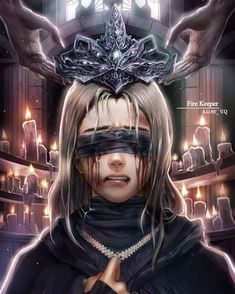ArtStation - Fire Keeper (Dark Souls Amethyst V.QYou can find Dark fantasy art and more on our website.ArtStation - Fire Keeper (Dark Souls Amethyst V.Q Dark Fantasy Art, Roman Fantasy, Fantasy Artwork, Dark Souls 3, Demon's Souls, Fantasy Inspiration, Character Inspiration, Character Art, Dark Anime