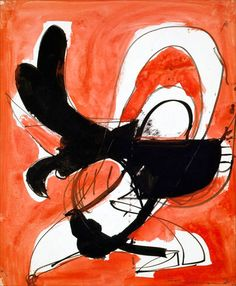 Untitled Abstraction, 1944, by Hans Hofmann, gouache and ink on paper