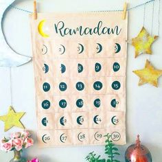 Today: Ramadan day 2!✨ . On our calendar in the surfhouse you can follow each day of the moon. Ramadan is the ninth month of the Islamic calendar, and begins with the sighting of the new moon. Because the moon can be spotted at different times in various parts of the world — and sometimes because of methodology — Ramadan's start can vary slightly from country to country. And since the lunar calendar doesn't quite line up with the solar calendar, Ramadan usually moves up by about 11 days…