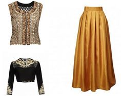 If you arent sure about carrying around ethnic outfit this Diwali or bearing heavy lehangas So why bother yourself with those traditional attires when you can elegantly add a flattering twist to western wear with Indian ethnic essence. Ladies! Its now time to gear up your modish side by flaunting the fusion wear confidently. Lets dive in to explore how you can style yourself this Diwali with long skirts and Indian crop tops or maybe mirror-work jackets. Sounds interesting? Wait! Theres…