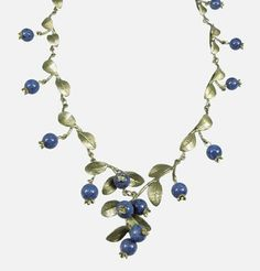 Silver Seasons - Michael Michaud - Blueberry Necklace