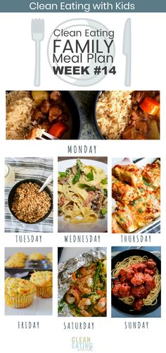 7 Day Clean Eating Family Meal Plan eating breakfast eating dinner eating for beginners eating for weight loss eating grocery list eating on a budget eating plan eating recipes eating snacks Clean Eating Plans, Easy Clean Eating Recipes, Clean Eating For Beginners, Clean Eating Breakfast, Clean Eating Meal Plan, Clean Eating Dinner, Clean Eating Snacks, Healthy Eating, Clean Lunches