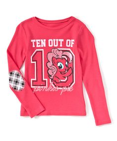 Another great find on #zulily! My Little Pony Pinkie Pie 'Ten Out of 10' Tee - Girls #zulilyfinds