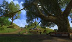 The Party-Tree. The Shire. #lotro