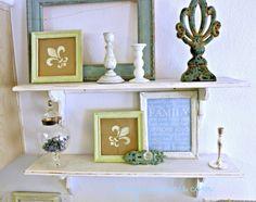 My Vintage Shelves — MeeganMakes