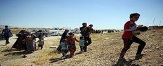 IŞİD yüzünden bin aile göç etti