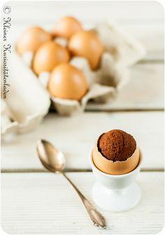 Brownies im Ei