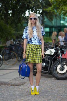 Street Style from Copenhagen, Denmark - Copenhagen Fashion Week Spring 2015 Street Style
