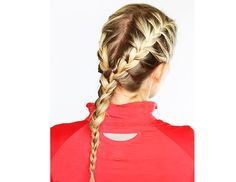 7 Stay-Put Hairstyles For Your Sweatiest Workouts via @ByrdieBeauty