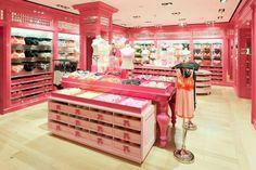 My dream closet- (actually a Victoria Secret but I love it)