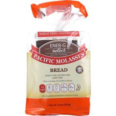 Ener-g Foods Bread - Select - Pacific Molasses - 14 Oz - Case Of 6