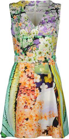 MARY KATRANZOU Short Dress - Lyst