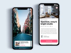 Book apartment using AR - Daily UI Challenge designed by Christian Vizcarra. the global community for designers and creative professionals. Ui Design Mobile, Ios App Design, User Interface Design, Android Design, Design Thinking, Flat Web Design, Ui Patterns, App Design Inspiration, Mobile App Ui