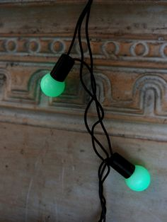 50 Green LED Large Ball String Lights Black Cord) on Sale Now! Plug In String Lights Cheap on Sale at Bulk Wholesale Best Prices Led String Lights, Fairy Lights, Event Decor, Decorative Items, Plugs, Lanterns, Balls, Globe, Green