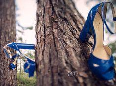 Blue Bridal Shoes | Benjie Tiongco Photography | www.benjietiongco.com