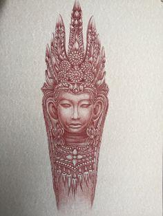 Goddess Tara buddhism by IrikStudio on Etsy