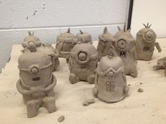 Cornwell Fam: Garden Gnomes, Owls and Minions, Oh My! + Notes That Have Made Teaching Clay Easier For Me!