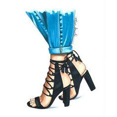 These shoes are. Fashion Artwork, Fashion Design Drawings, Fashion Sketches, Moda Fashion, Fashion Shoes, Fashion Illustration Shoes, Shoe Illustration, Fashion Illustrations, Shoe Sketches