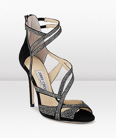 High Heels ~ Classic Look ~ Jimmy Choo Pretty Shoes, Beautiful Shoes, Cute Shoes, Me Too Shoes, Bridal Sandals, Bridal Shoes, Wedding Shoes, Shoe Boots, Ankle Boots