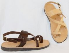 SPECIAL SALE  Roman Greek leather sandals size by AnaniasSandals, $9.95