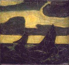 Albert Pinkham Ryder. Moonlight marine 1908