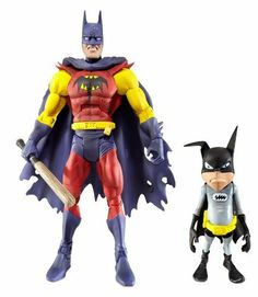 "Batman Unlimited Planet X with Batmite Collector Action Figure by Mattel. $30.95. These are the figures Batman collectors of all ages have been looking for; Based on the blockbuster Batman Arkham City video game and other comic incarnations; Each 6"" scale figure is highly detailed and articulated for the ultimate collector in mind; Includes Batman Unlimited Collector figure, unique display stand and mini collector comic poster; Draws inspiration from the editorial heritage of ..."