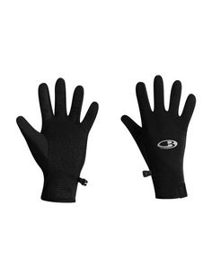 Quantum Gloves | For warmth that still lets you use your touchscreen device, the Quantum Gloves have a touch screen fabric on the index finger and thumb. Constructed from stretchy, midweight 260gm fabric, with LYCRA® to improve fit and dry time, the Quantum gloves are ideal for warmth on hikes, climbs and days in the snow.