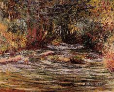 Claude Monet The River Epte At Giverny oil painting reproductions for sale