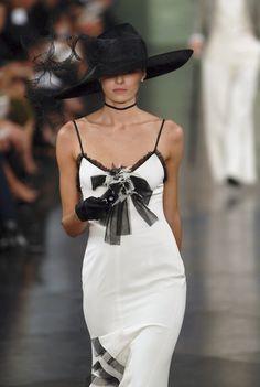 108a78d1 Ralph Lauren at New York Fashion Week Spring 2008. Winter TypLove HatBlack  ...