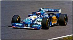 Michael Schumacher again wins the French Grand Prix in 1995 driving a Benneton-Renault Formula 1, Australian Grand Prix, Michael Schumacher, Indy Cars, Benetton, Bugatti, Race Cars, Pilot, Racing