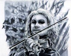 """Copic Deutschland Blog: Portrait """"Violine"""""""